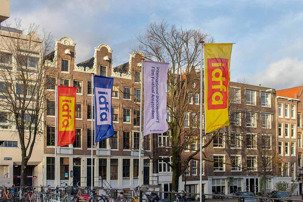 Vlaggen IDFA Amsterdam