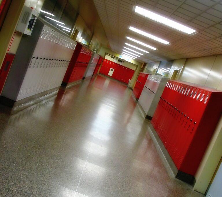 In eine schiefe Schule gehen
