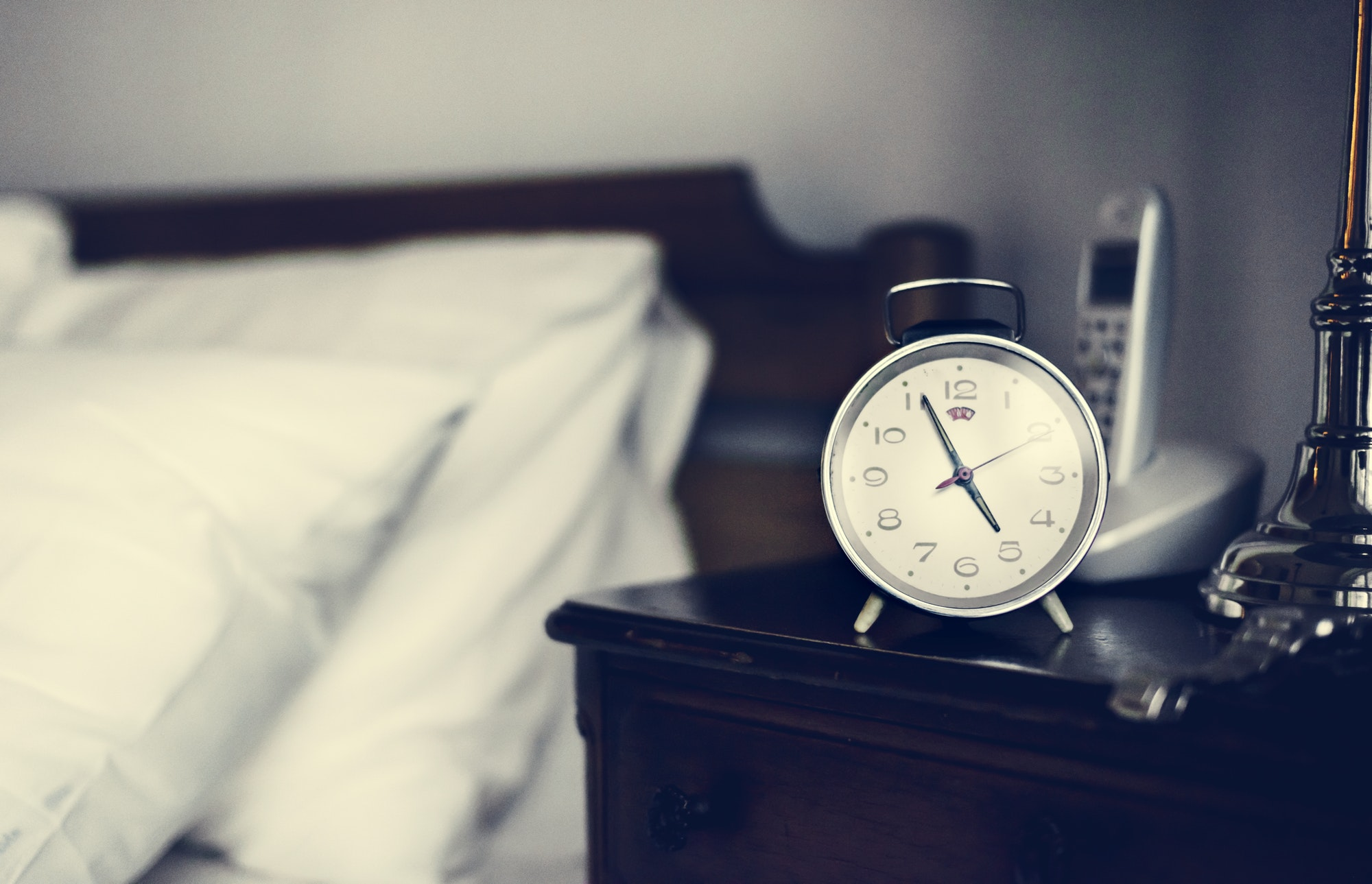 Bedroom alarm clock