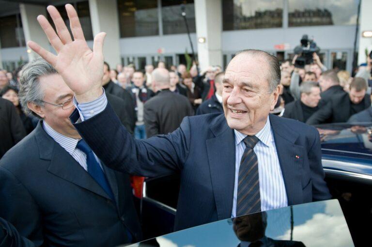 Adieu, Jacques Chirac!