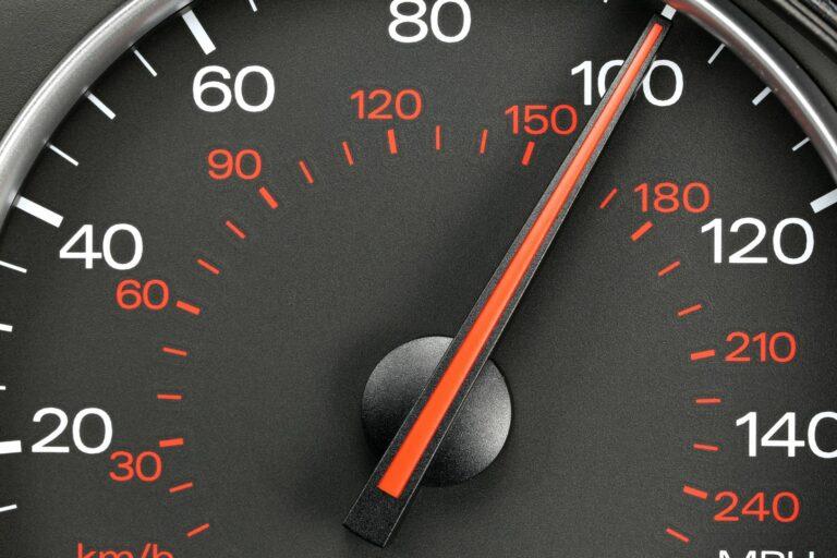 Verlagen maximumsnelheid