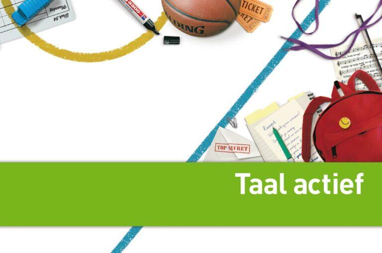 Jaarplanning Taal actief 2021-2022