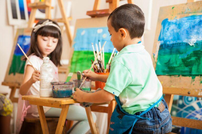 Ein junger Maler