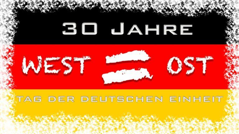 30 Jahre Deutsche Einheit