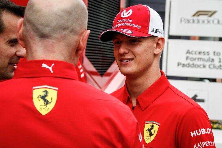 Mick Schumacher in der Formel 1