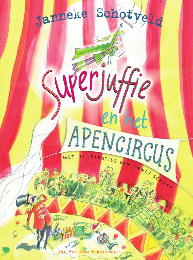 Leestip Superjuffie en het apencircus Juf & Meester Malmberg