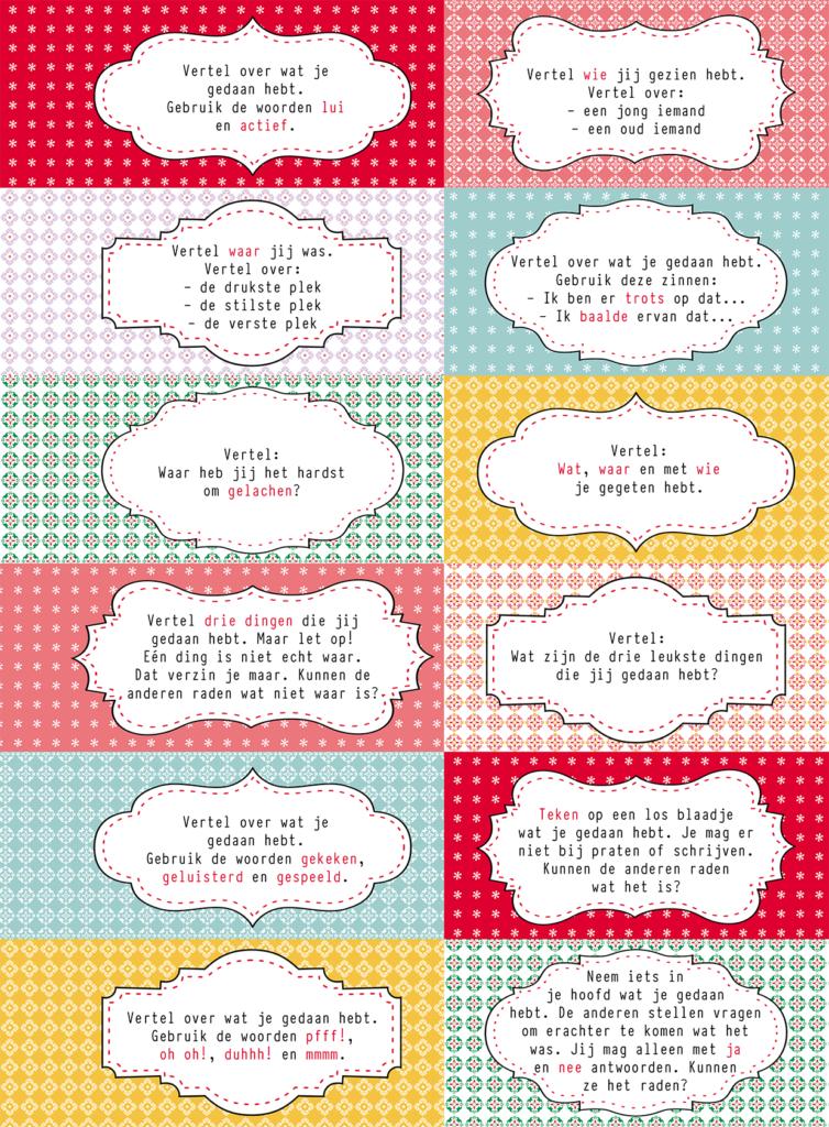 Juf & Meester - Interviewkaartjes