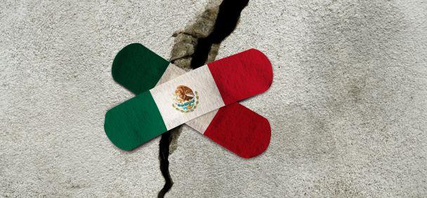 Mexico geschokt door aardbeving