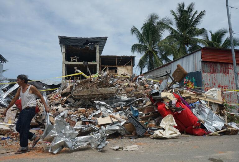 Aardbeving op Sulawesi