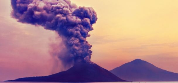 Kind van de Krakatau