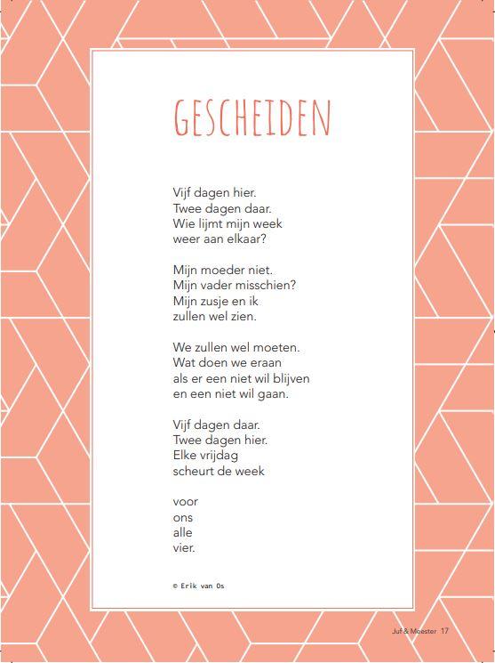 Gedicht: Gescheiden