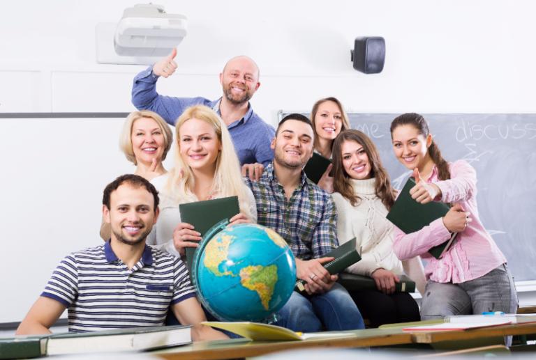 9 x online leerkrachten