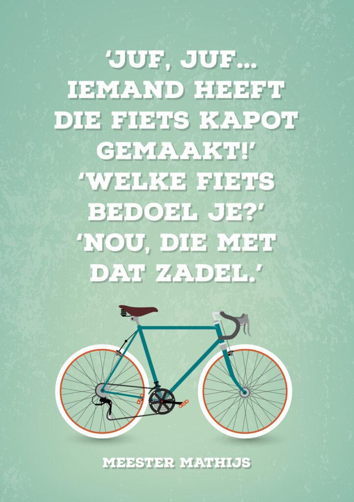 Kinderpraatje: fiets