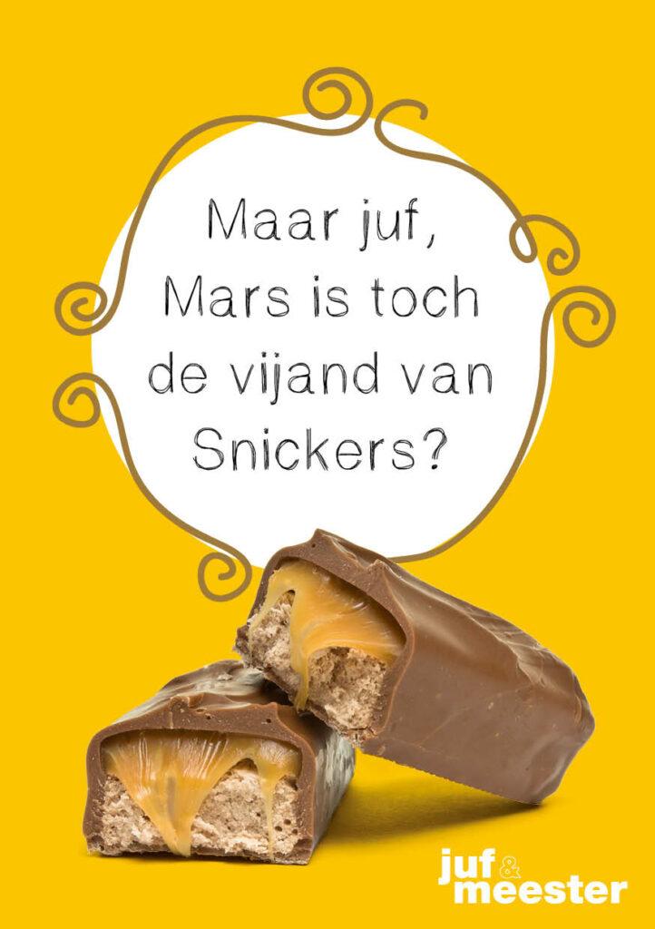 Kinderpraatje: Mars & Snickers