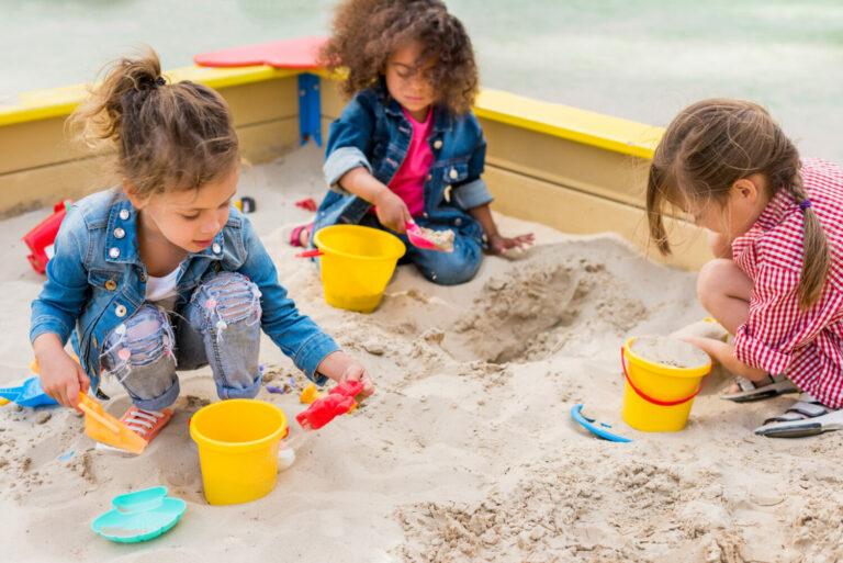 Zandbak of zandtafel: 7 nieuwe ideeën