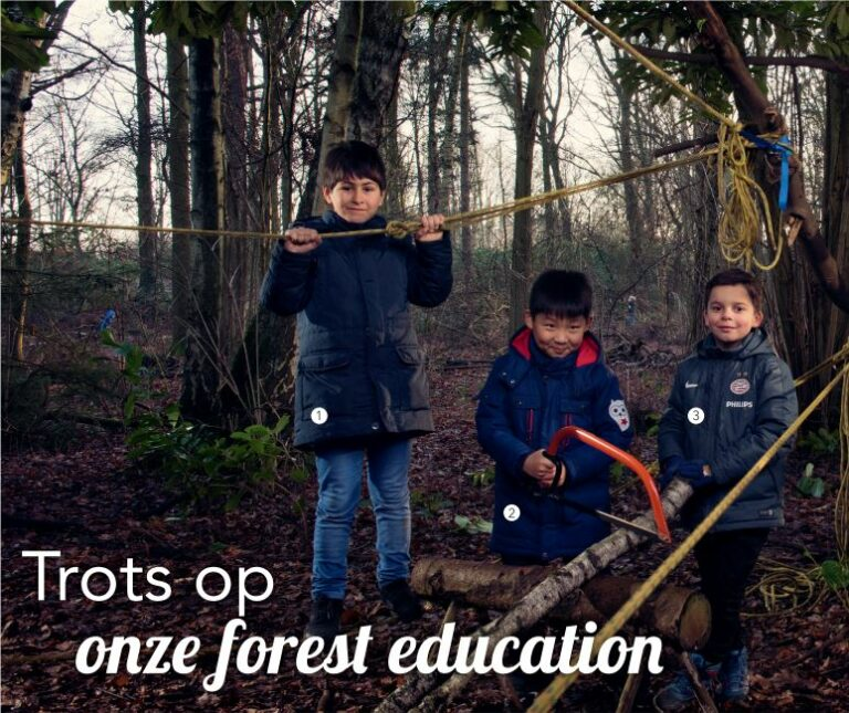 Trots op: onze forest education