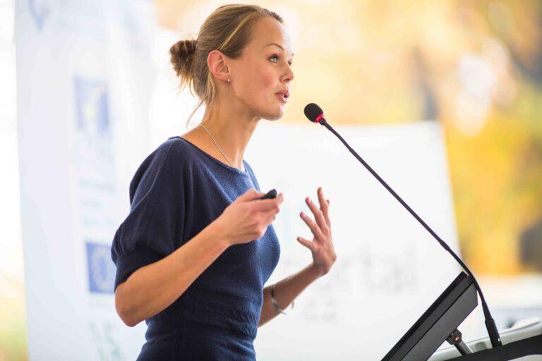 5 tips voor spreken in het openbaar
