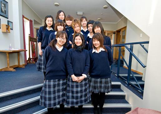 Middelbare school in Nieuw Zeeland: Wonen op school met jongeren van je eigen geslacht