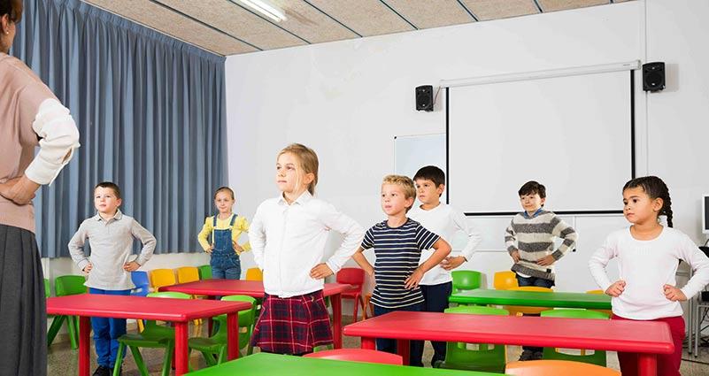 Bewegend leren in de klas en online