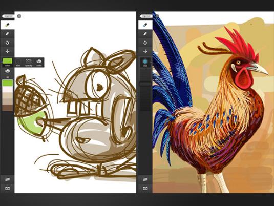 Favoriete educatieve apps: beeldende vorming