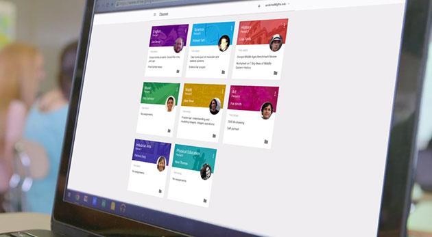 Google's elektronische leeromgeving: Google Classroom