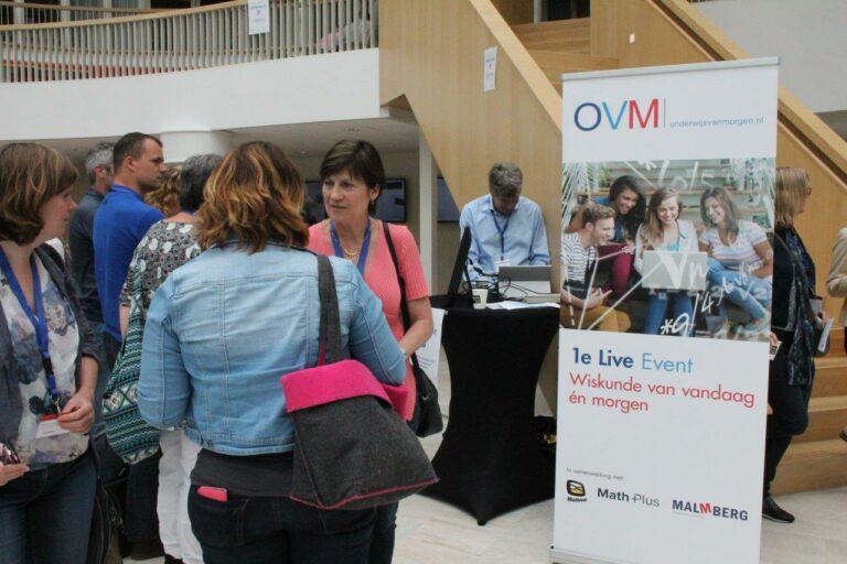 OVM-event 'Wiskunde van vandaag én morgen' groot succes