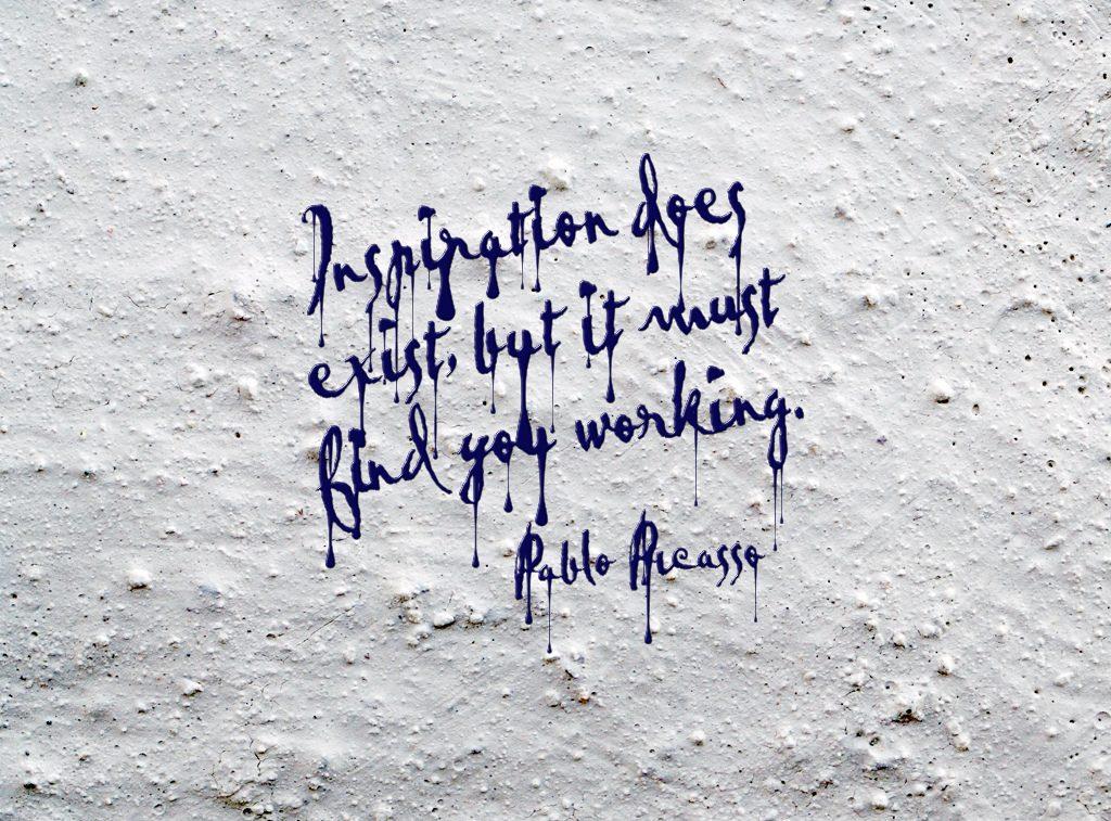Werken vanuit inspiratie