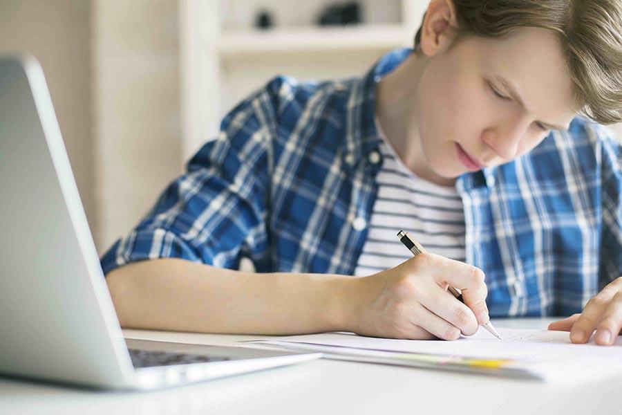 Huiswerkvrije school