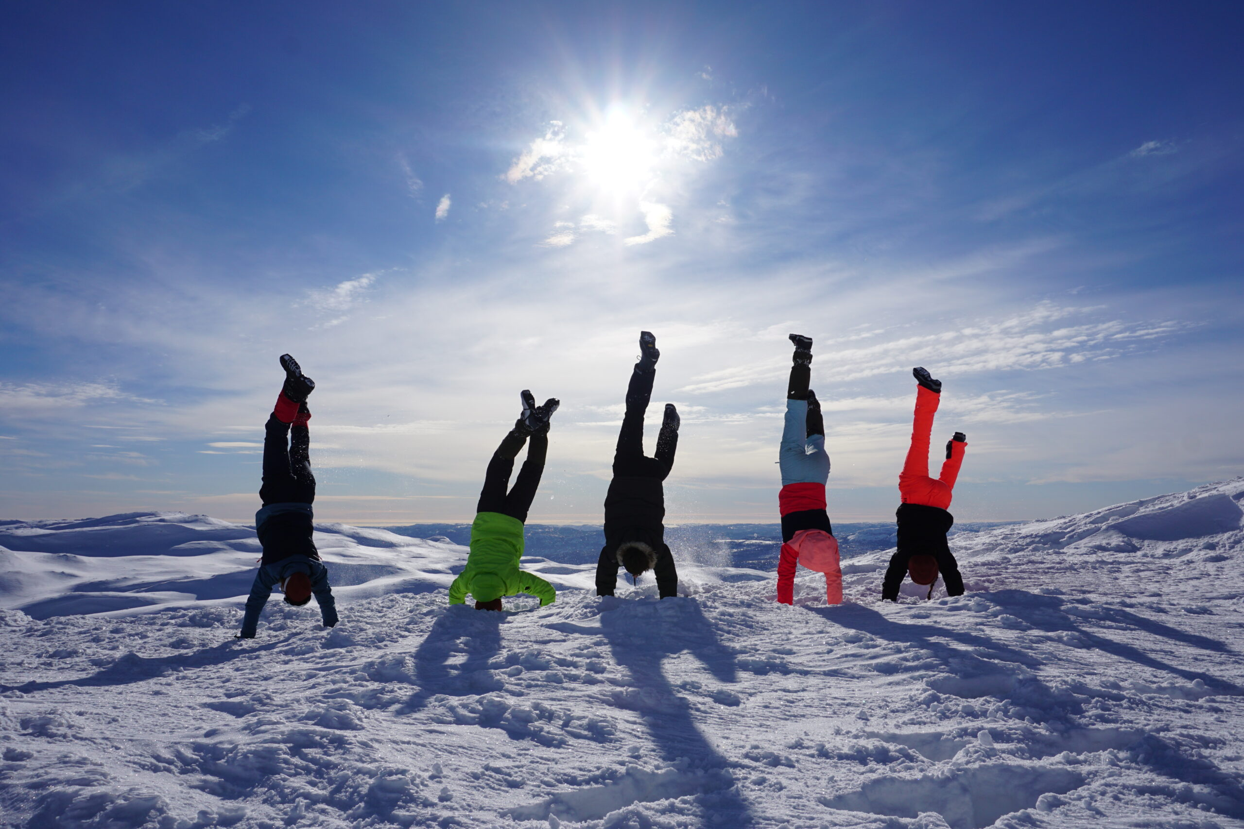 kinderen tijdens onderwijsreis Wylde Leren in Noorwegen