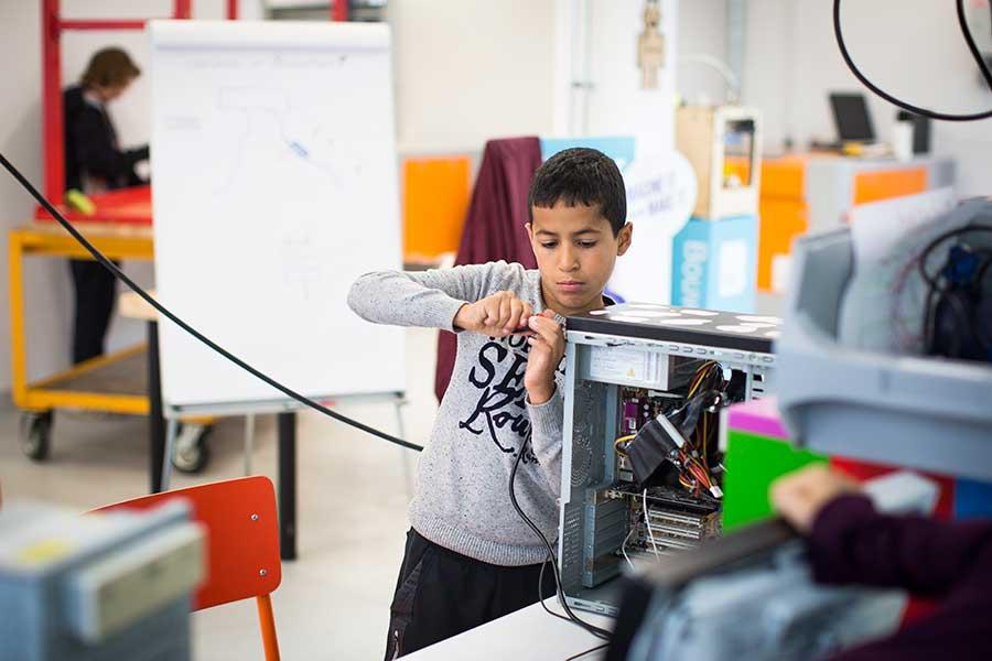 Makerspace op school