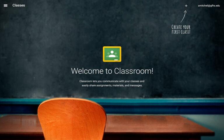 Maak nu digitale lessen met Google Classroom