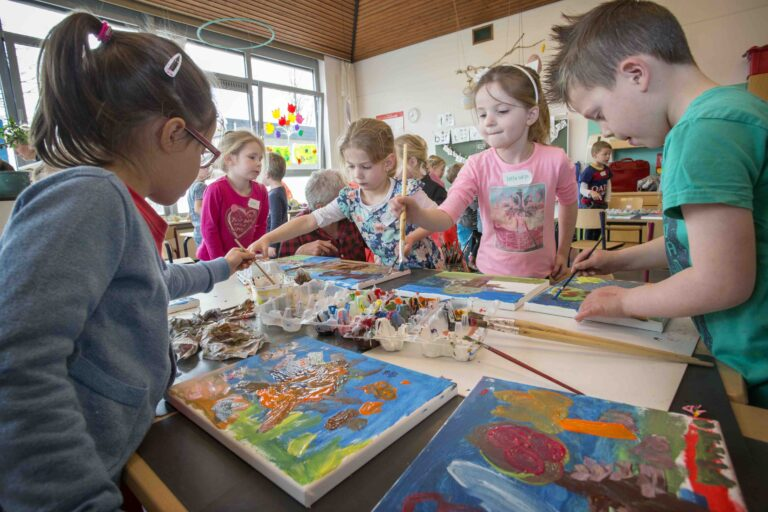Kunst in de klas een kunst?