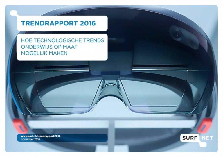 Trendrapport 2016: technologische trends en didactische verrijking