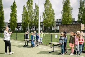 Rookvrij schoolplein