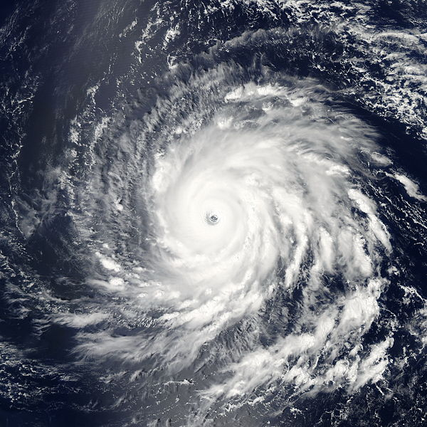 Het weerbericht: orkanen op komst