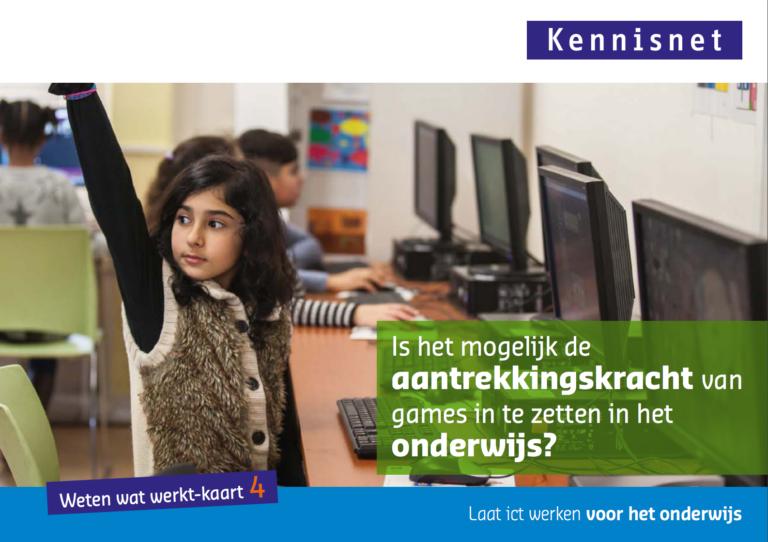 Kennisnet: weten wat werkt met onderwijs en ict