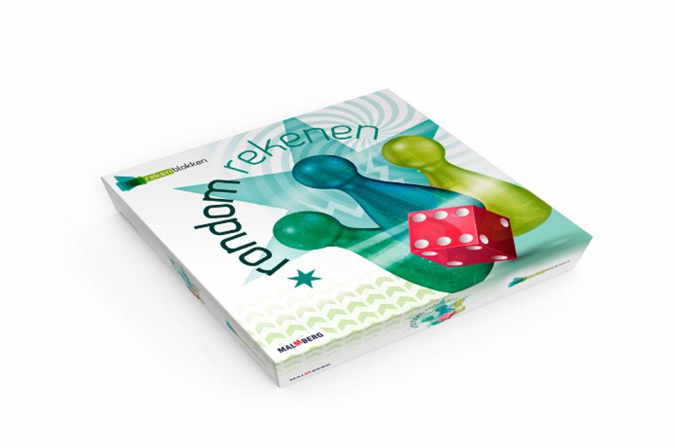Het bordspel Rondom rekenen van uitgeverij Malmberg