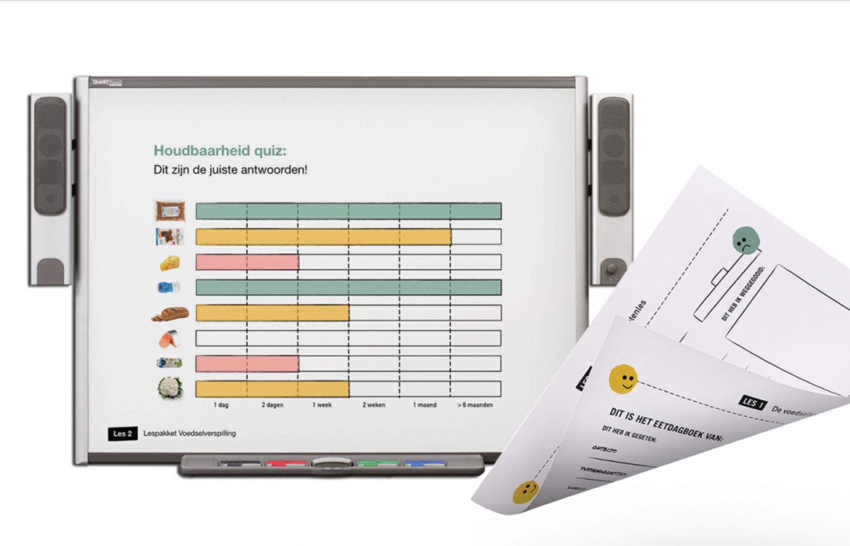 Het gratis te downloaden Instock lespakket tegen voedselverspilling