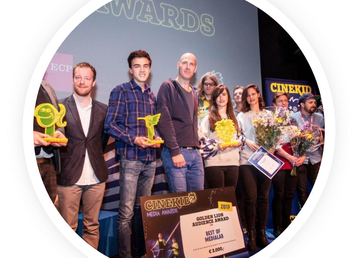 Een prijs voor het beste digitale mediaproject