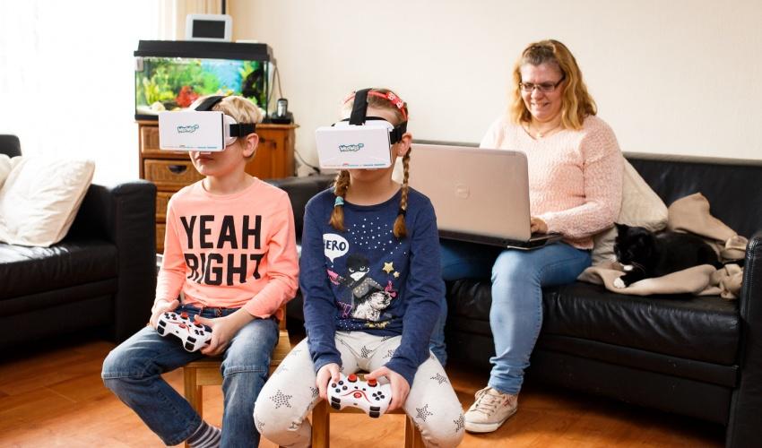 virtual reality in het verkeer