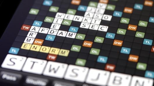 Wordfeud in de les