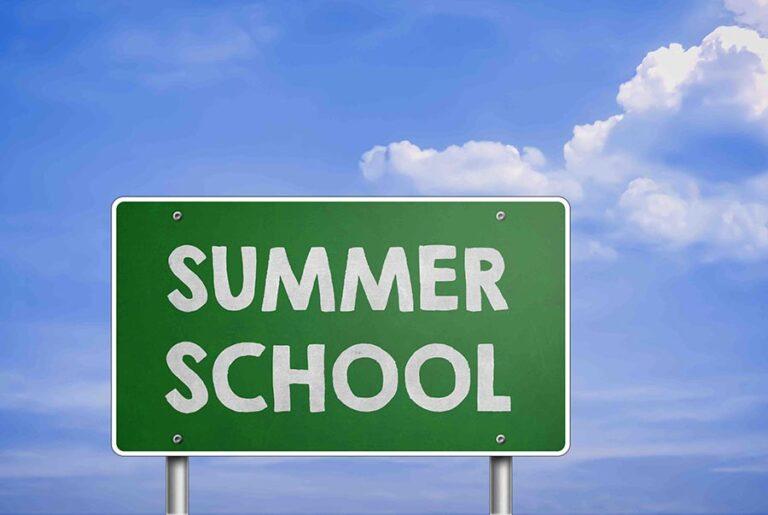 Zon, zee en summerschool
