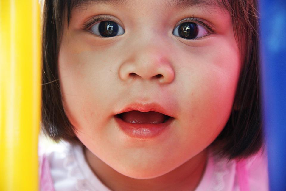 dochtertje van twee en een half jaar oud