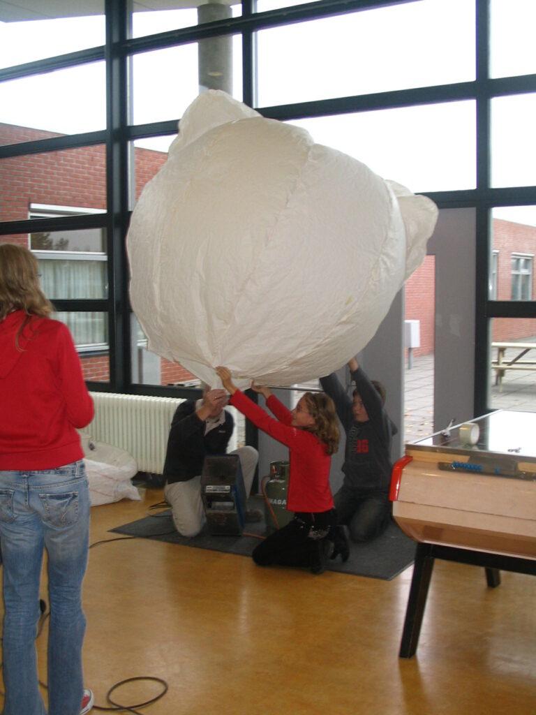 Ontwerp een luchtballon
