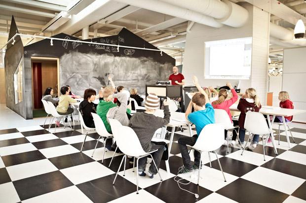 Een goed begin: de inrichting van het klaslokaal