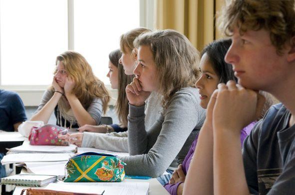 Leerlingen geven onderwijs een 6.9