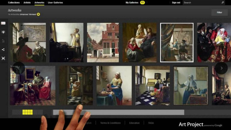 Lesidee: Wereldwijd kunst bekijken in de les