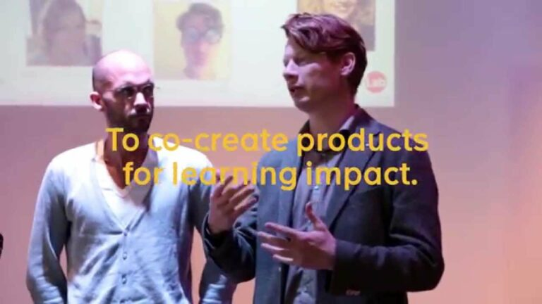 Kick-off Sanoma Learning Lab: onderwijsproducten in co-creatie