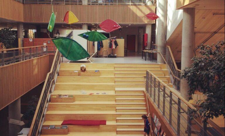 The Travelling Teacher: Hellerup skôle – Denemarken