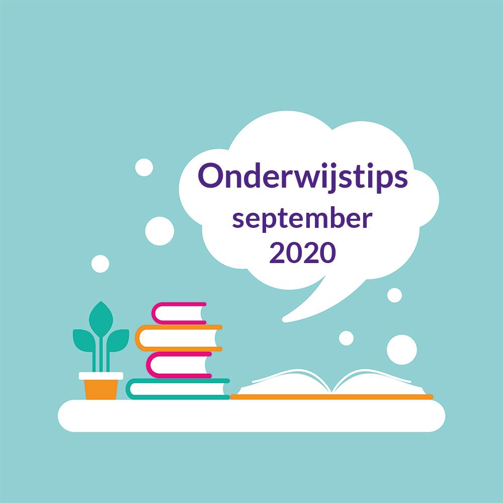 Onderwijstips september 2020 Onderwijs van Morgen